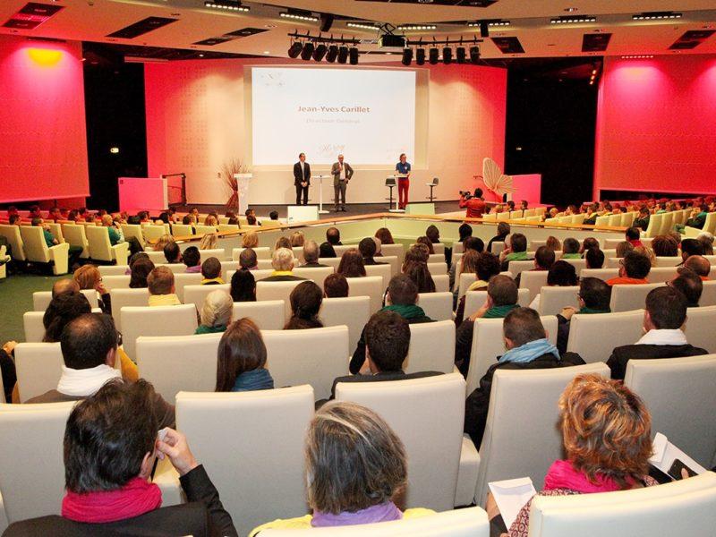Assemblée Générale 200 personnes, Convention Bancaire