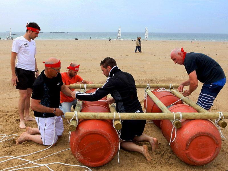 Challenge Construction de Radeaux à St Malo