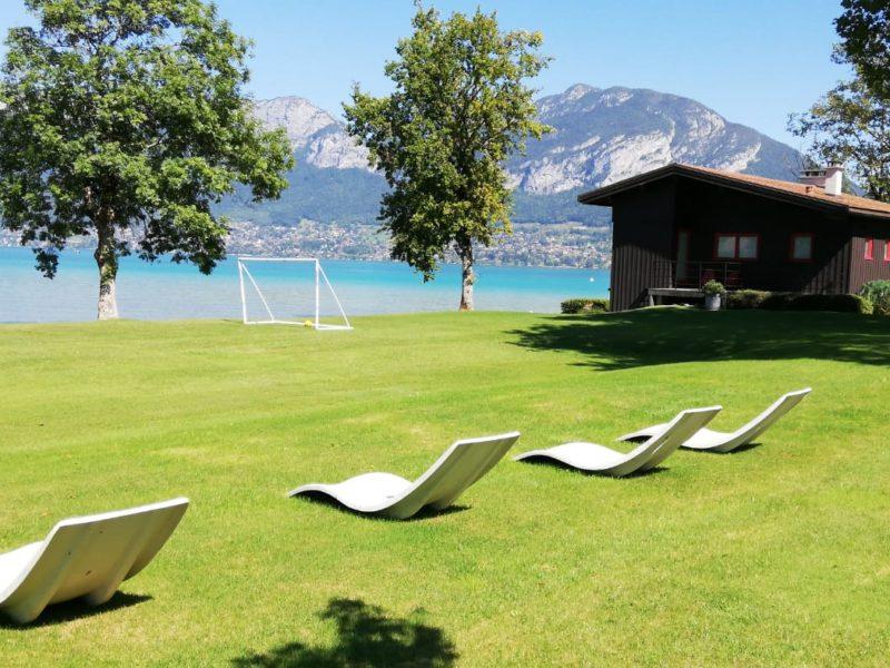Séminaire Managers 16 personnes au Lac d'Annecy