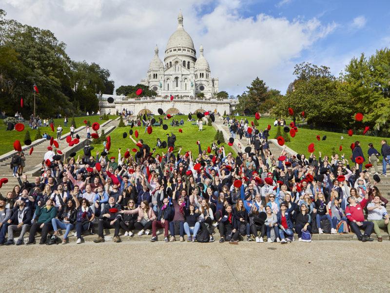 Teambuilding Montmartre, 170 collaborateurs